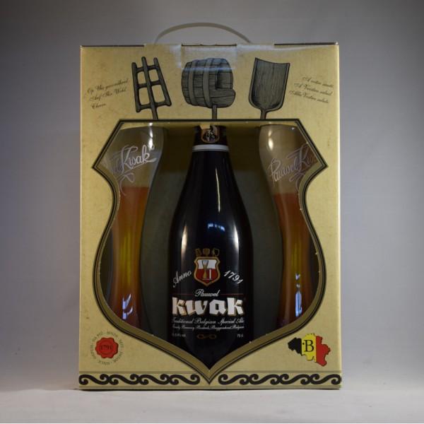 Kwak koetsierke 1bottle  75 cl + glass