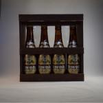 Kwak 4 bottles + 2 glasses