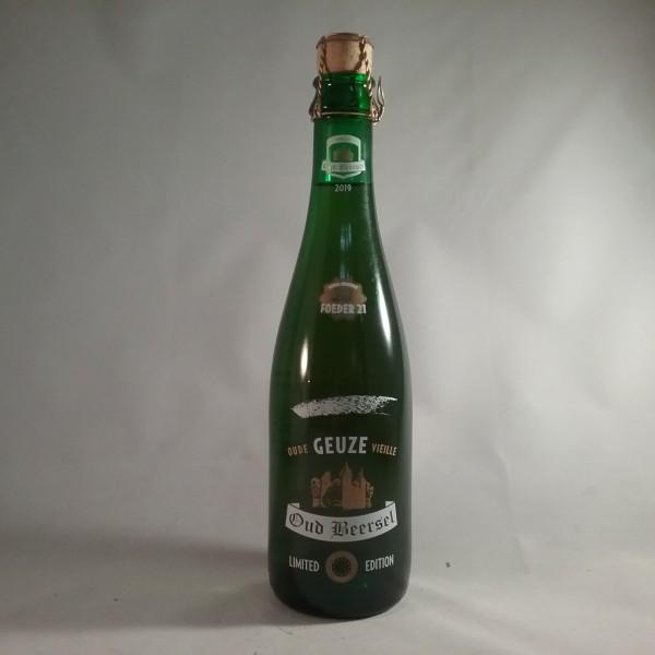 Oud beersel barrel selection foeder 21