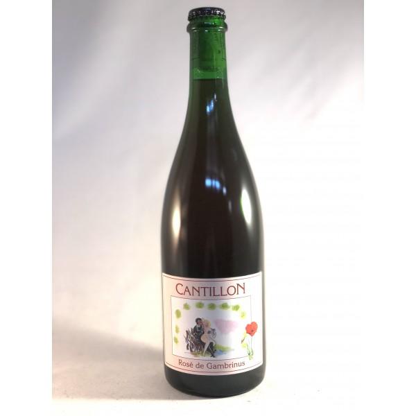 cantillon rose de gambinus 75 cl