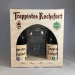 Rochefort gift box 4 bottles + 1 glass